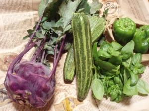 買ってきた野菜たち