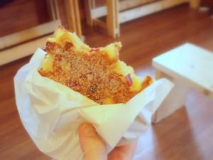 ホットアップルパンケーキ
