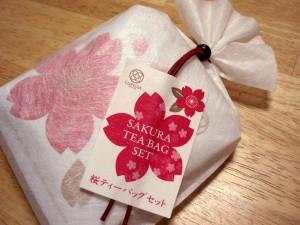 桜のお茶セット