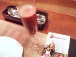 イチゴの食前酒
