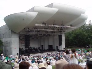ステージ(開演前)